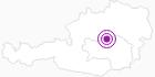 Unterkunft Gasthof Stiegenwirt in der Alpenregion Nationalpark Gesäuse: Position auf der Karte