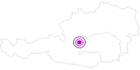 Unterkunft Aignerhof in Schladming-Dachstein: Position auf der Karte