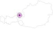 Unterkunft Haus Waldruhe im Kaiserwinkl: Position auf der Karte