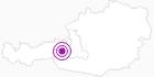 Accommodation Jugendgästehaus Innerwiesen in the Nationalpark Hohe Tauern: Position on map