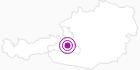 Unterkunft Verwöhnhotel Berghof in der Salzburger Sportwelt: Position auf der Karte