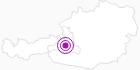 Unterkunft Ferienwohnung Steinacher im Salzburger Sonnenterrasse: Position auf der Karte