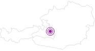 Unterkunft OBERWARTHLODGE - Ferienhaus in der Salzburger Sportwelt: Position auf der Karte