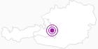 Unterkunft Lechnerhof in der Salzburger Sportwelt: Position auf der Karte