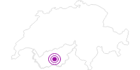 Unterkunft Hôtel Le Besso im Val d'Anniviers: Position auf der Karte
