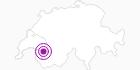 Unterkunft Auberge de l'Ours in Genferseegebiet: Position auf der Karte