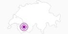 Unterkunft Auberge du Sanetsch in Genferseegebiet: Position auf der Karte