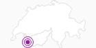 Webcam Gondel Longnand - Grand Montets in Verbier St. Bernhard: Position auf der Karte