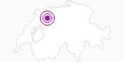 Unterkunft Chalet Corinne, Burstera 506 in Fribourg: Position auf der Karte