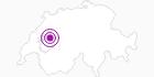 Unterkunft Chalet Les Sapins (Kuriger), Brüggera 647b in Fribourg: Position auf der Karte