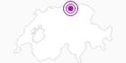 Unterkunft Chalet Rosa, Gerendacherli 696 in Fribourg: Position auf der Karte