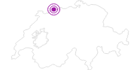 Unterkunft Chalet Waldegg, Kaspera 653 in Fribourg: Position auf der Karte