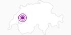 Unterkunft Glückshoger in Fribourg: Position auf der Karte