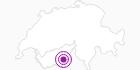 Accommodation Bergrestaurant Kreuzboden in the Saastal: Position on map