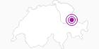 Unterkunft Ferienlagerhaus Sennhütte im Heidiland : Position auf der Karte