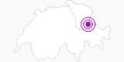 Unterkunft Berghaus Baschalva im Heidiland : Position auf der Karte