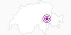 Unterkunft Berghütte Piz Mundaun in Surselva: Position auf der Karte