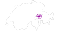 Unterkunft Restaurant Talstation in Surselva: Position auf der Karte