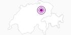 Unterkunft Wädenswilerhaus in Surselva: Position auf der Karte