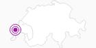 Unterkunft Hotel de la Lande in Genferseegebiet: Position auf der Karte