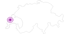Unterkunft Hotel de Ville in Genferseegebiet: Position auf der Karte