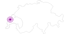 Unterkunft Hotel du Cygne in Genferseegebiet: Position auf der Karte