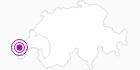 Unterkunft Hotel La Babaute in Genferseegebiet: Position auf der Karte