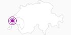 Unterkunft Ferien protestantisches Zentrum in Genferseegebiet: Position auf der Karte