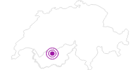 Unterkunft Pfyffer Marie-Thé im Val d'Anniviers: Position auf der Karte