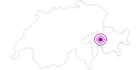 Unterkunft Berggasthaus Beverin in Viamala: Position auf der Karte