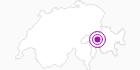 Unterkunft Berghaus Obergmeind in Viamala: Position auf der Karte