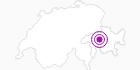 Unterkunft Gruppenlager Pantun in Viamala: Position auf der Karte