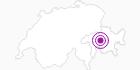 Unterkunft Gasthaus Post in Viamala: Position auf der Karte