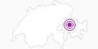 Unterkunft Casealas in Viamala: Position auf der Karte