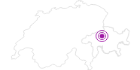 Unterkunft Gasthaus Wildenstein in Viamala: Position auf der Karte