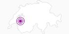 Unterkunft Contact : Observatorium Restaurant in Fribourg: Position auf der Karte