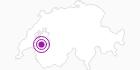 Unterkunft Catill´Sun SA in Fribourg: Position auf der Karte