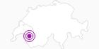 Webcam Chalet Sybil Südost in Genferseegebiet: Position auf der Karte
