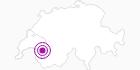 Webcam Tobogganing Park, Leysin in Genferseegebiet: Position auf der Karte