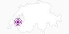 Unterkunft Ferienwohnung F. Biolaz in Fribourg: Position auf der Karte