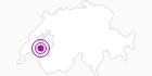 Unterkunft Ferienwohnung, C. Biéler in Fribourg: Position auf der Karte