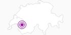 Unterkunft Refuge de la Drosera in Genferseegebiet: Position auf der Karte