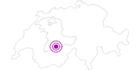 Unterkunft Chalet Hüttentürli im Kandertal: Position auf der Karte