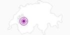 Unterkunft Bärghus Gastlosen in Fribourg: Position auf der Karte