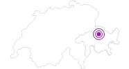 Unterkunft Massenlager St.Peter-Pagig in Chur: Position auf der Karte