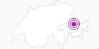 Unterkunft Wohnung Spina in Chur: Position auf der Karte