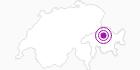 Unterkunft Wohnung Rufer in Chur: Position auf der Karte
