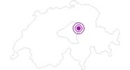 Accommodation Restaurant Bärghus in Schwyz: Position on map