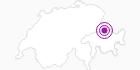 Unterkunft Berghaus Schwänzelegg im Prättigau: Position auf der Karte