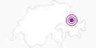 Accommodation Hotel Restaurant Grüsch in the Prättigau: Position on map